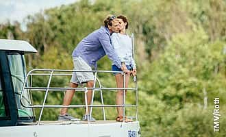 enjoy togetherness on a boat
